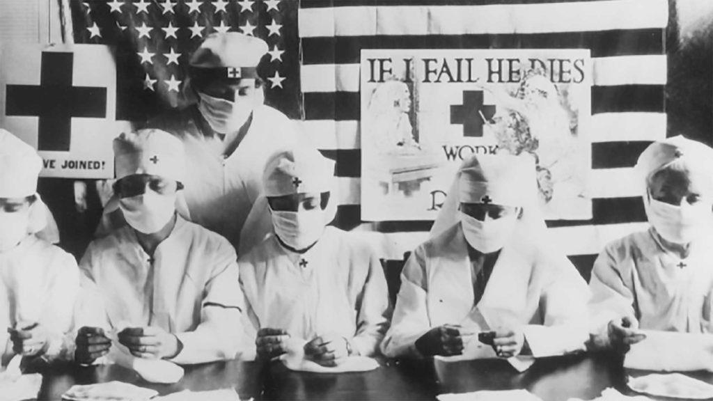 grippe espagnole 1917